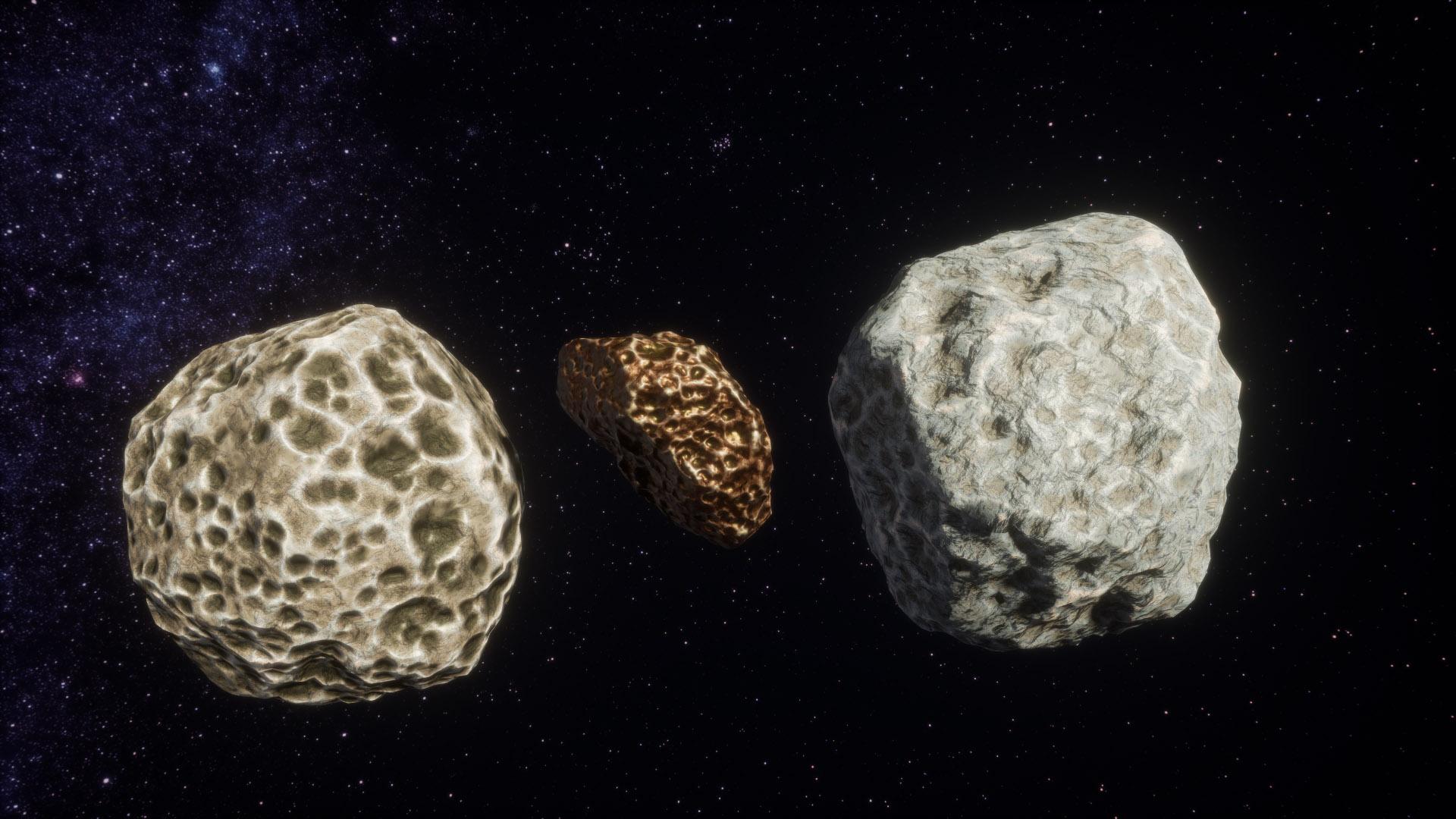 meteoroids asteroids earth - HD1920×1080