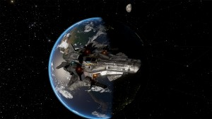 Eclipsing Earth-1